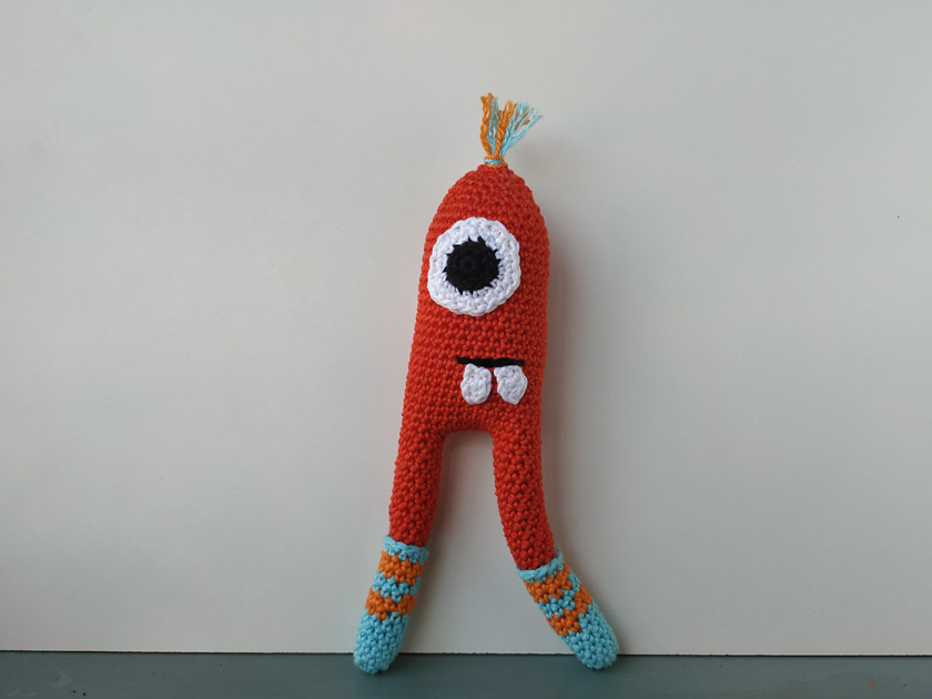 Little monster amigurumi